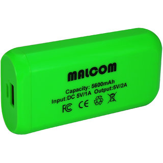 MALCOM 5600 MAH POWER BANK