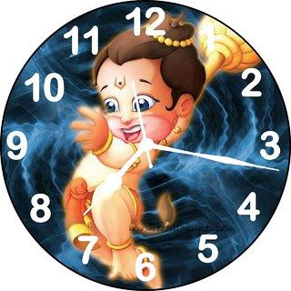 ske designer bal hanuman wall clock