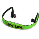 Life Like MRS-BS15 WIRELESS BLUETOOTH NECKBAND HEADSET WITH MIC - GREEN