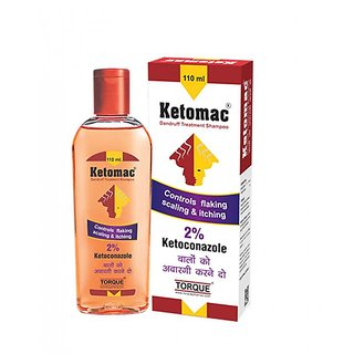 Ketomac Anti-Dandruff shampoo set of 4 pcs.