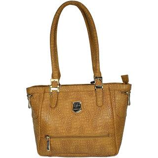 Moochies Ladies Leatherette handbag,Tan