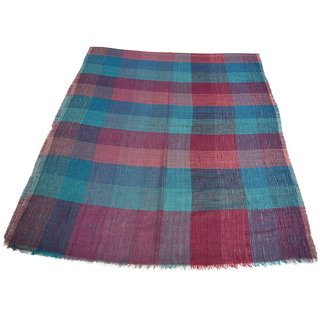 Sofias Exclusive Pure 100 Pashmina Hand Made and Hand Woven Medium Shawl (70 cms x 200 cms) Multicolor emzsspashminast68