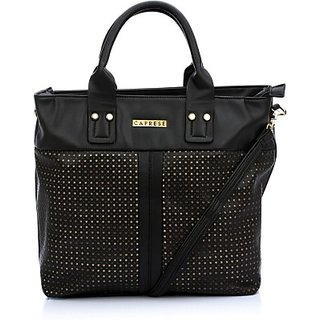 Caprese Satchel (Black)