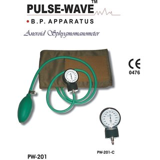 Pulse Wave Aneroid BP Monitor