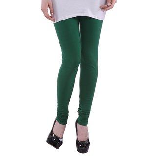 Legis Green Cotton Leggings