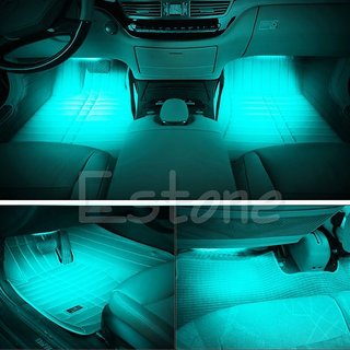 high quality diy ice blue 2x12 led car interior floor decor atmosphere light buy high quality. Black Bedroom Furniture Sets. Home Design Ideas