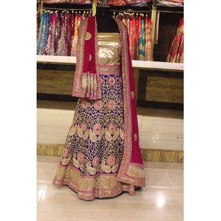 0c47b73e2f75 Buy Bollywood Designer Partywear lehenga Choli Online   ₹17800 from ...