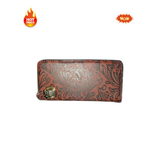 Brown Color New Stylish Clutch Purse With ATM Card Holder