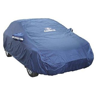 JMJW AND  SONS - Parker Blue Car Body Cover for Maruti Suzuki Zen Estilo  - (With Side Mirror Pockets)