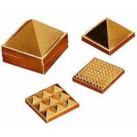 Jaz Deals 2 91 Pyramids In Total ,set Of Three Pyramid, Ashtdhatu Vastu Pyramid