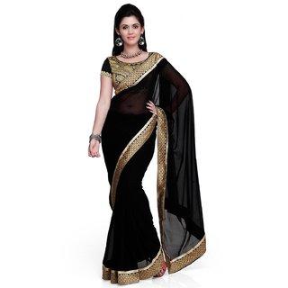 Womens Chiffon Saree