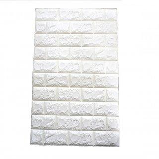 KOREAN Design Easy Install Sticky Wallpaper Anti Fire Foam Interior Block Cushion Wall Paper