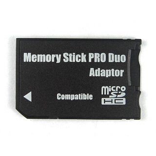 Micro SD CARD TO MS Memory Stick Pro Duo Adapter Converter