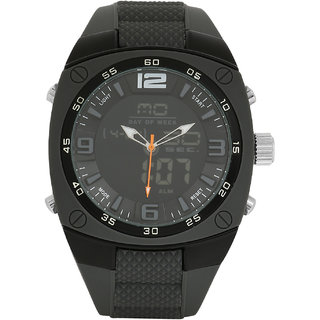 Blackwood BW-WAD-BLK-SS15-AV1008 Analog Digital Watch