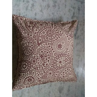 16 inch printed cotton cushion cover