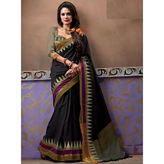 Get Dressed Striped Fashion Cotton Sari