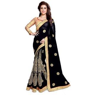 Sarees Womens Work Party Wear Saree