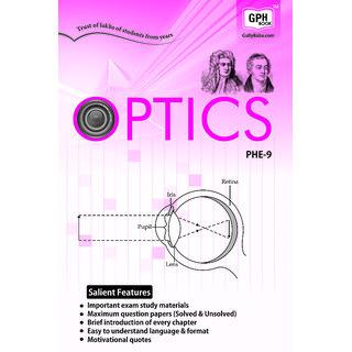 PHE9 Optics (IGNOU help book for PHE-09 in English Medium)