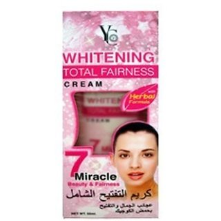 YC Whitening Total Fairness Cream.