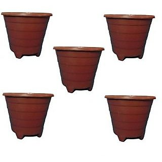 techamazon planters or pots or plant vase - Set of 5 Qty