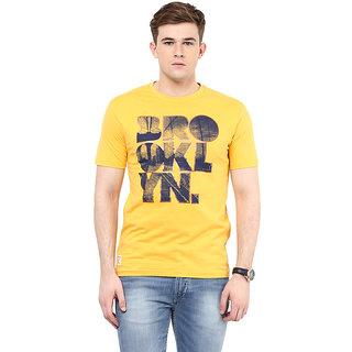 Ziera Yellow Round T Shirt