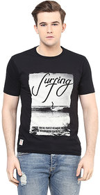 Ziera Black Round T Shirt