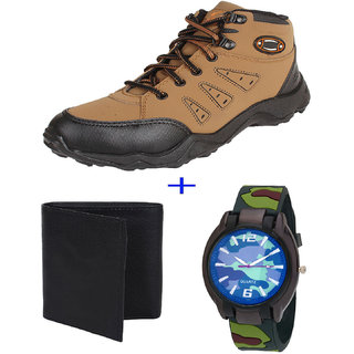 Armado Combo Pack For Men/Boys Casual Shoe with Wallet  Watch