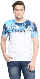 Ziera White Round T Shirt