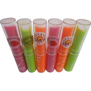 Tian Nuo Fruit Juice Vitamin C Changeable Color Lipstick 6pcs 014073