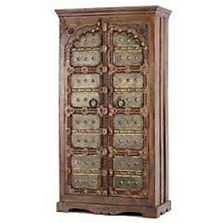 Designer wooden almirah buy designer wooden almirah online at best prices from - Wooden almirah pictures ...