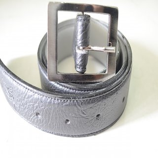 Mens Black Belt with Buckle