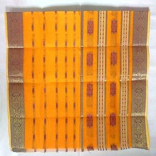 Bengal Handloom Designed Cotton Saree