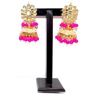 Jewels Kafe Aashiqui 2 Inspired Kundan Earrings