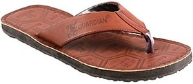 Stylos Mens Brown Slippers