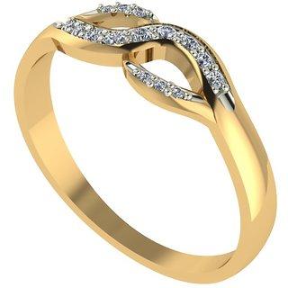 Diamond Ladies Ring in 18 Ct. Gold