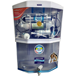 Aqua Ultra A400 15L RO+UV+UF+TDS Water Purifier (White)