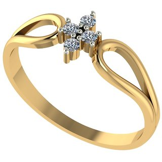 Diamond Ladies Ring in 18 Ct. Gold