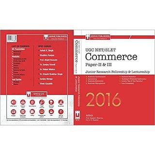 UGC NET/SLET Commerce Paper-II  III 2016 (English)