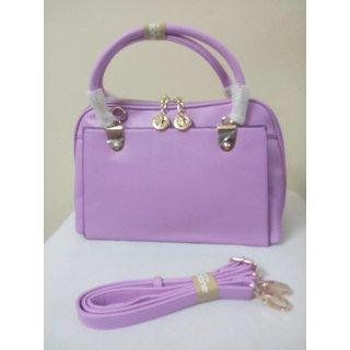 Violet color sling bag. Stylish  Trendy