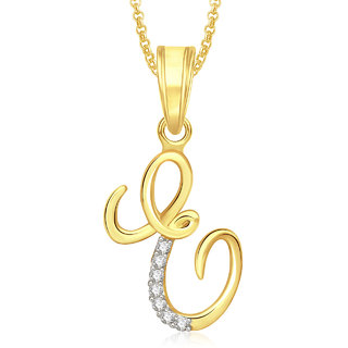 rose and pendant letter oro products web rg gold necklace vrai