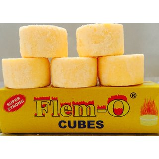 20 Dry Hexamine Yellow Fuel Cubes / Cakes for portable stove