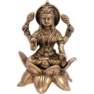 Bharat haat vishnu  sitting on lotus (kamal) home Decorative Religious item 5123