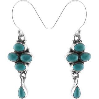 Sheelas Silver dangle earring codeSH01827
