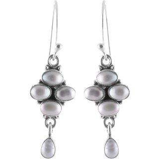 Sheelas Silver dangle earring codeSH01838
