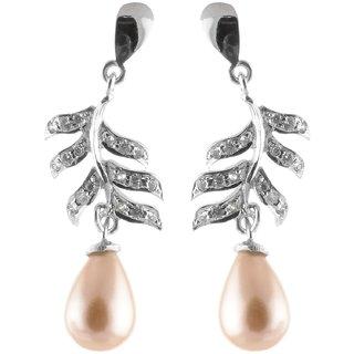 Sheelas Silver drop earring codeSH01844