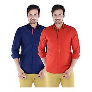 pack of 2 shirts...red and blue