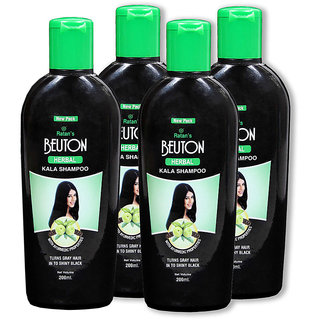 Beuton herbal Kala Shampoo 200ml Pack of 4