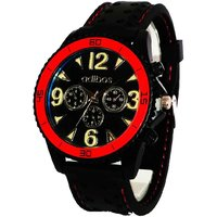 Adibos Sports Analog Black Dial Men's Watch - 2001176