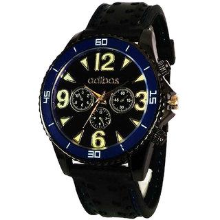 Adibos Sports Analog Black Dial Men's Watch - 2001174
