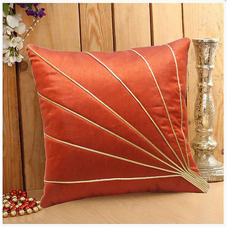 Blooms Ray Cushion Cover Rust 40X40 Cms (1 Pc)